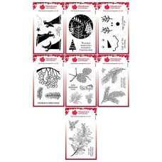 Jane Gill Woodware Stamps Bundle