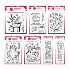 Woodware Festive Stamps Bundle