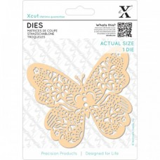 Xcut Die Ornate Butterfly