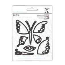 Xcut Decorative Dies (8pcs) - Butterflies