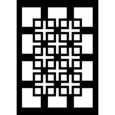 Creative Expressions Mini Stencil Knots & Crosses