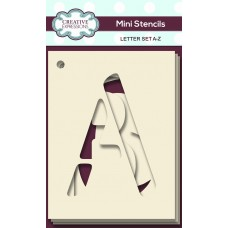 Alphabet Mini Stencils - Letter Set A-Z