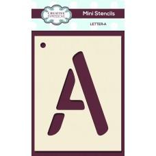 Alphabet Mini Stencil – Letter - A