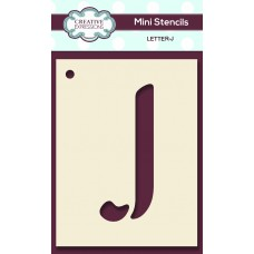 Alphabet Mini Stencil – Letter - J