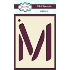 Alphabet Mini Stencil – Letter - M