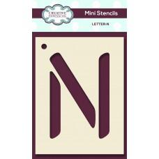Alphabet Mini Stencil – Letter - N