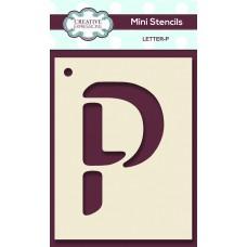 Alphabet Mini Stencil – Letter - P