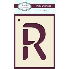 Alphabet Mini Stencil – Letter - R