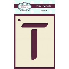 Alphabet Mini Stencil – Letter - T