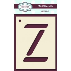 Alphabet Mini Stencil – Letter - Z